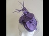 Suzie Mahony Designs Lilac Headpiece
